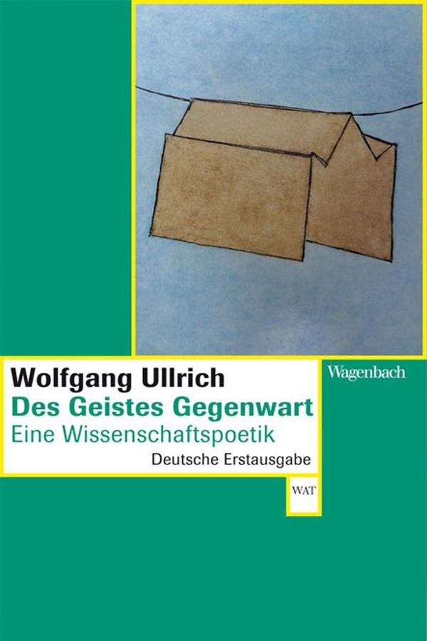 """Abbildung des Buchcovers """"Des Geistes Gegenwart"""""""
