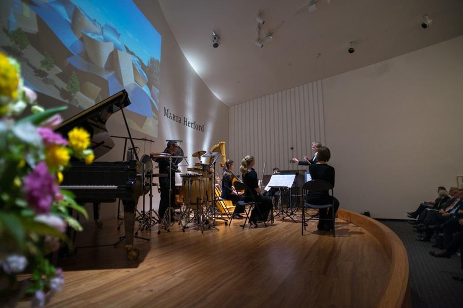 Foto des Auftritts des Ensembles Horizonte