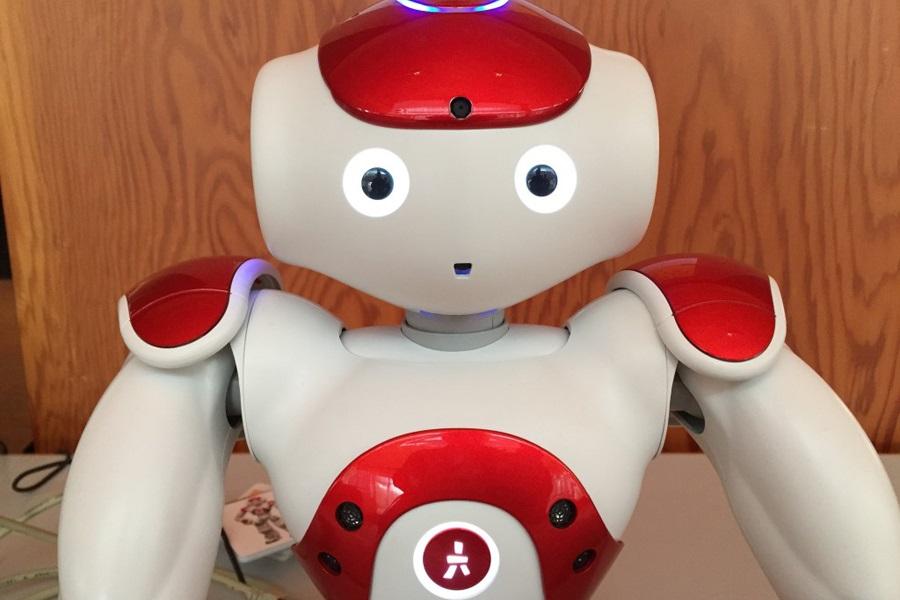 Foto des Roboters