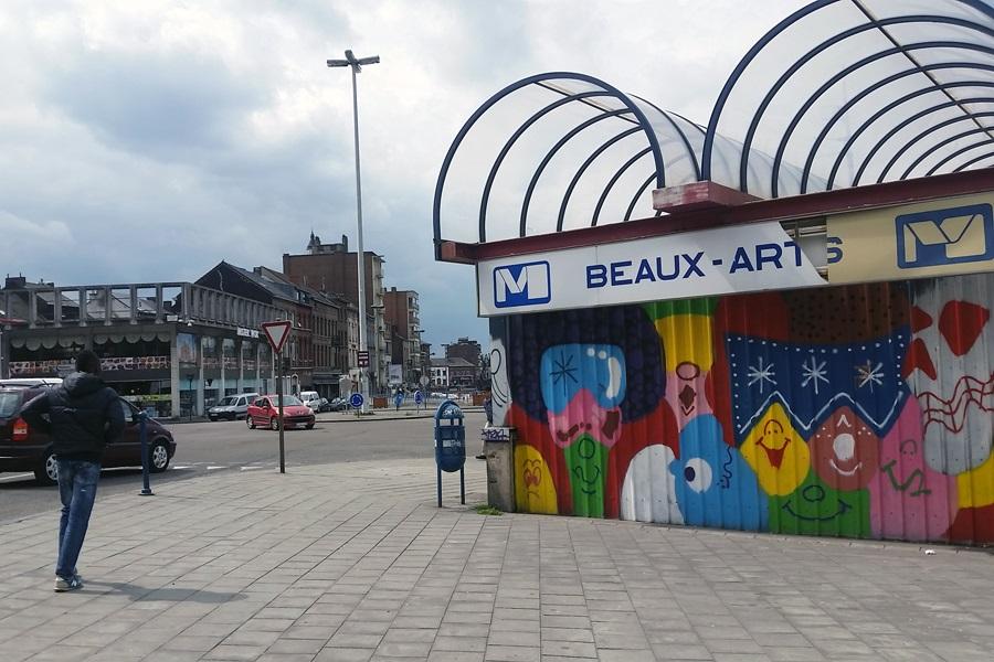 Charleroi in der Wallonie