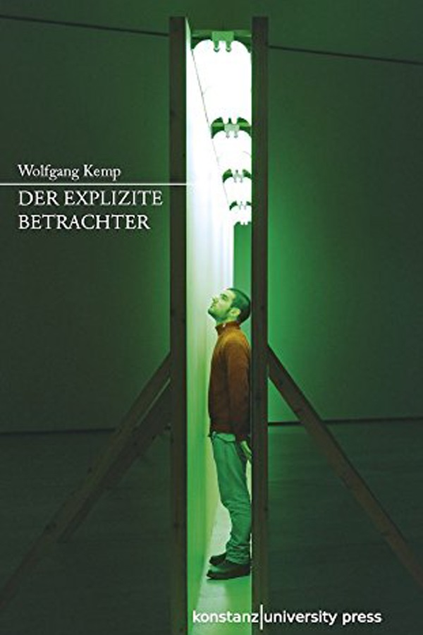 "Abbildung des Buchcovers von Wolfgang Kemps ""Der explizite Betrachter"""