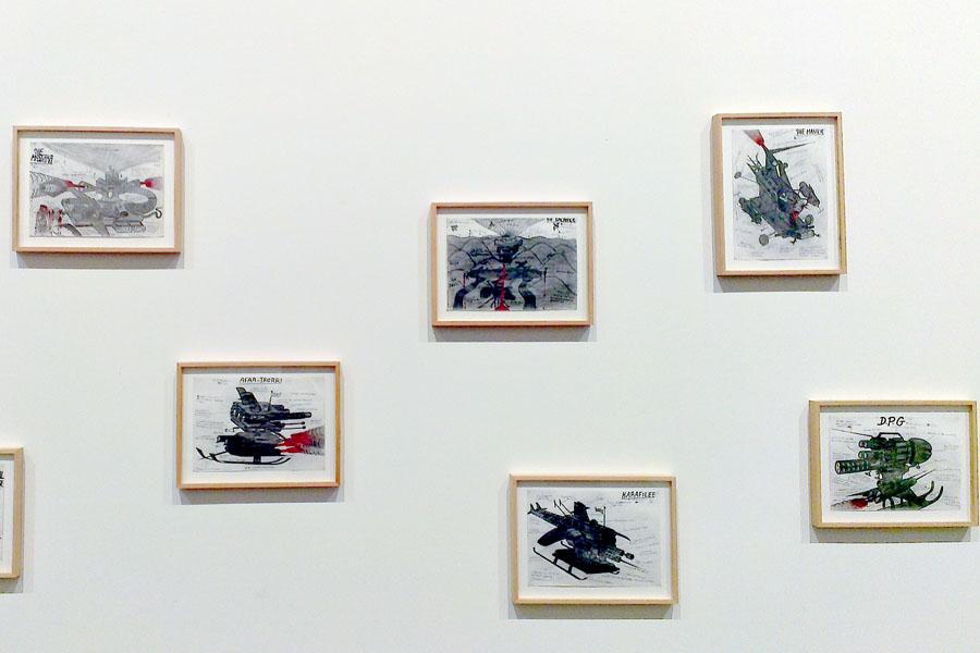 Die ebenso schönen wie verstörenden Zeichnungen von Abu Bakarr Mansaray