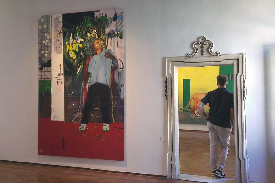 Er kann auch noch kraftvoll: Blick in die Peter Doig-Ausstellung