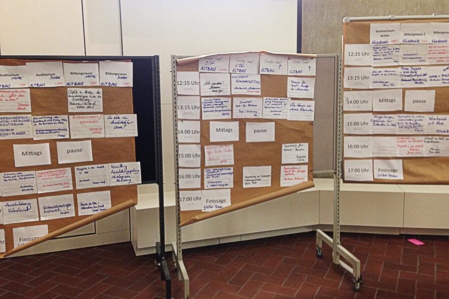 Barcamp-Themenvorschläg für die Sessions am Samstag